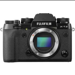 Fuji X-T 2 Body Only Black