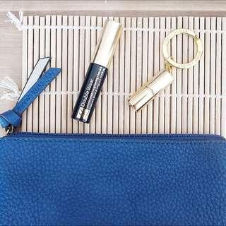 🆕ESTEE LAUDER Lipstick & Mascara Travel Set With Pouch