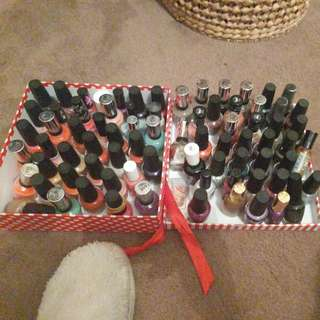Nail Polish  Over 60 Different Colours