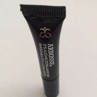 ARBONNE It's a Long Story MINI Mascara Black .07oz /2g