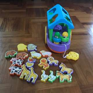Noah's Ark Shape Sorting Toy