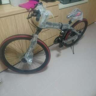 Foldable Mountain Bike Bicycle 26 Inches
