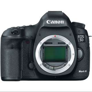 Canon EOS 5D Mk lll Body Only