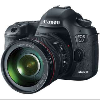 Canon EOS 5D Mk lll Kit 24-105mm L Lens