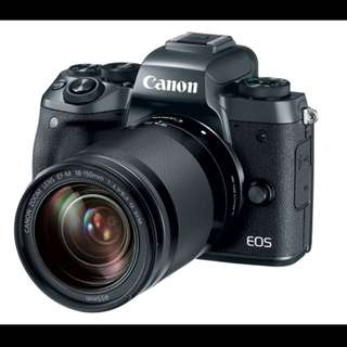Canon EOS M5 Kit 18-150mm Lens