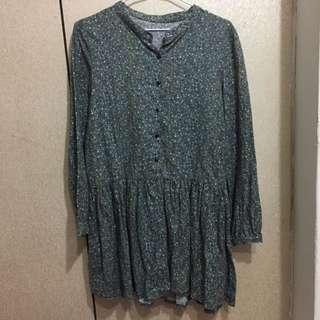 (韓國購入)小碎花連身洋裝