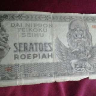 uang kertas kuno