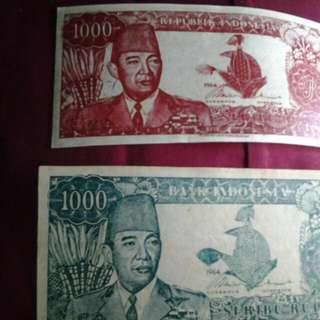 uang kertas bung karno