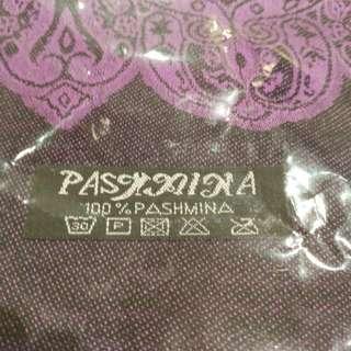 Purple Pashmina Shawl