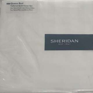 Sheridan Queen Tailored Quilt Cover Set