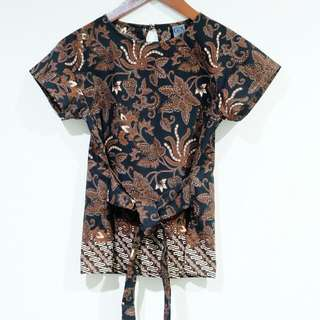 GX BATIK TIED TOP CANTIK