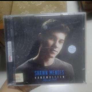CD Album Shawn Mendes Handwritten