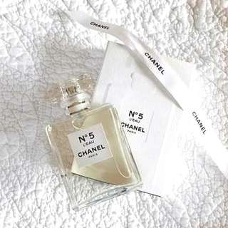 LOOKING TO BUY! Chanel No 5 L'eau. Authentic.