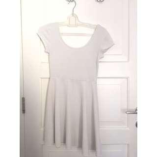Basic White Dress