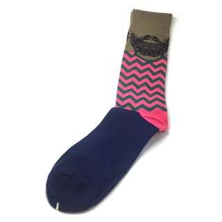 Kuma Series Pink Sea Socks
