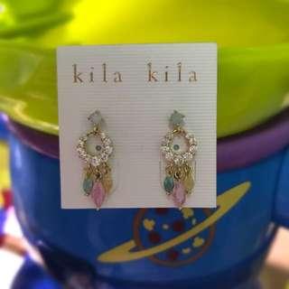 Kila Kila馬卡龍耳環