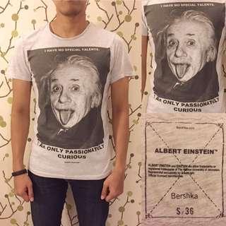 BERSHKA Einstein Shirt