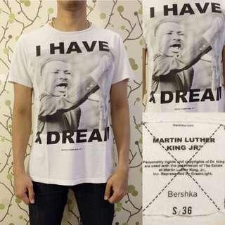 BERSHKA Luther King Shirt