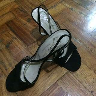 Garolini Black High Heels