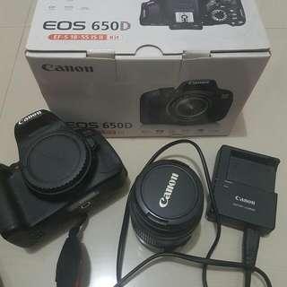 Canon EOS 650D Kit Second