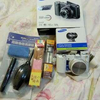 三星EX2白色相機