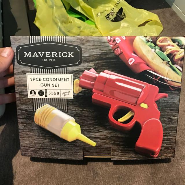 3 Piece Condiment Gun Set