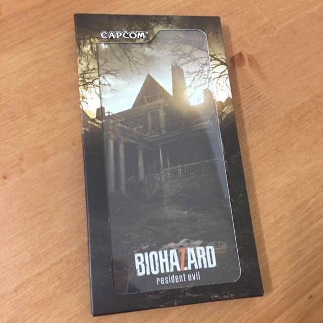 全新惡靈古堡7首波特典限量手機殼iphone6 Plus 7plus