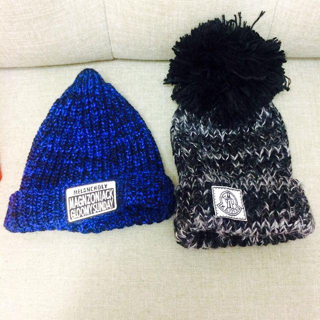 冬天造型毛帽