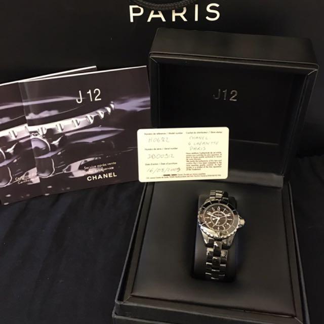 補圖區 保證正品 Chanel 香奈兒 J12 陶瓷錶