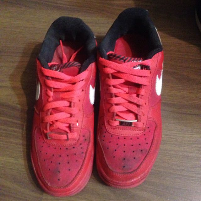 紅 Nike Force One