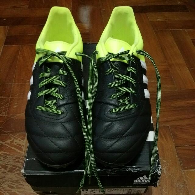 wholesale dealer 4528d 52fe1 Adidas ACE 15.1 Junior Leather on Carousell