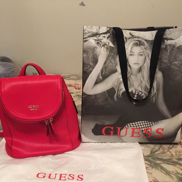 Authentic Knapsack Guess Bag