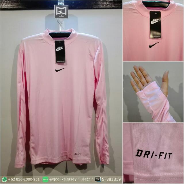 Baselayer / Manset Nike Pink Baby