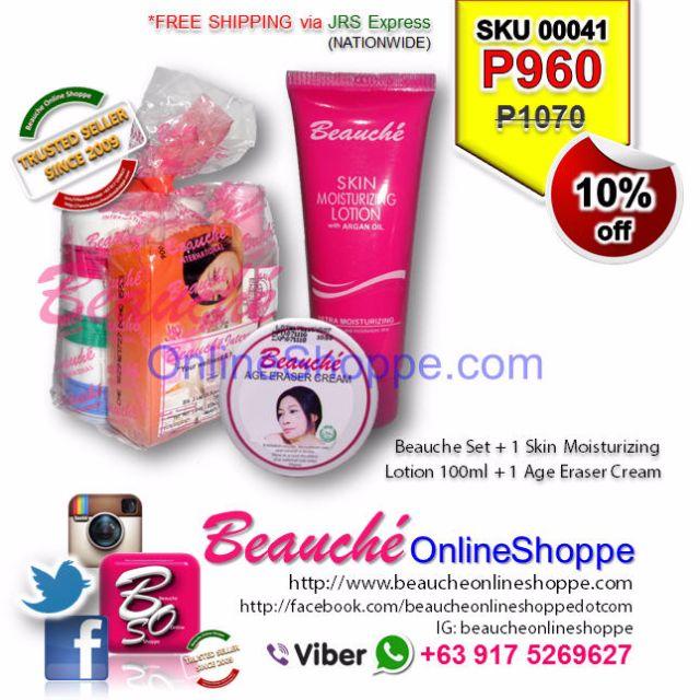 Beauche Set + 1 Skin Moisturizing Lotion 100ml + 1 Age Eraser Cream (SKU 00041)