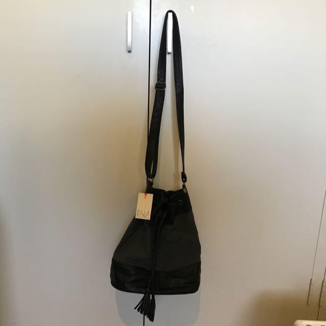 Black Billabong Marketplace Bag