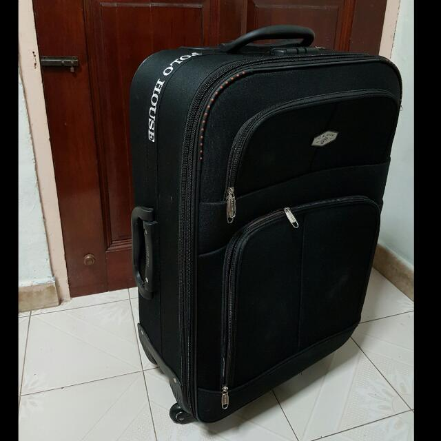 7978ec277d Black POLO HOUSE Luggage 26