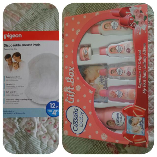 Breast Pads Pigeon Gift Box Cusson