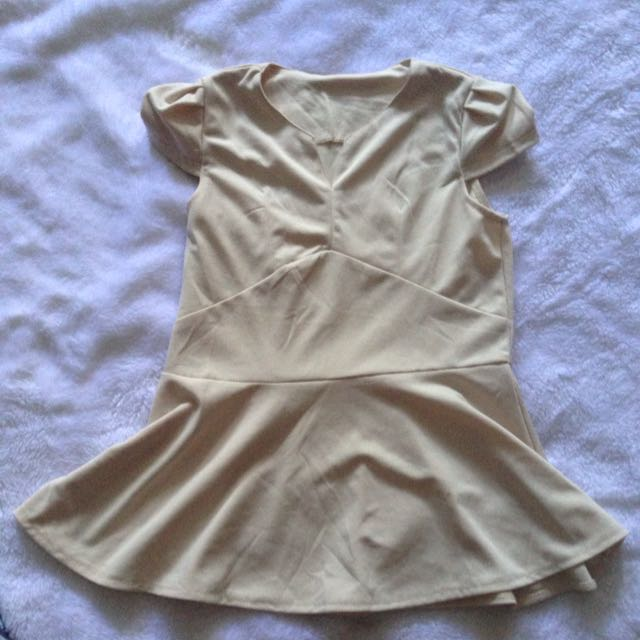 Broken White Peplum
