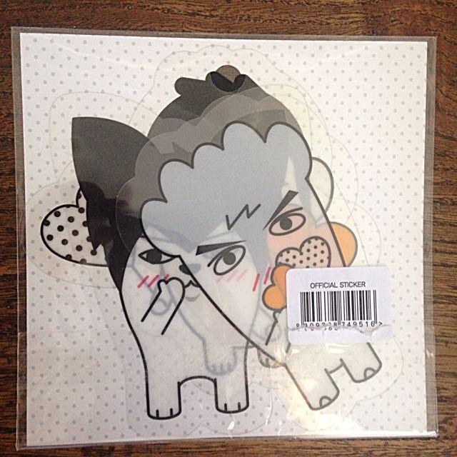 BTS 'HIPHOP MONSTER' PVC Stickers
