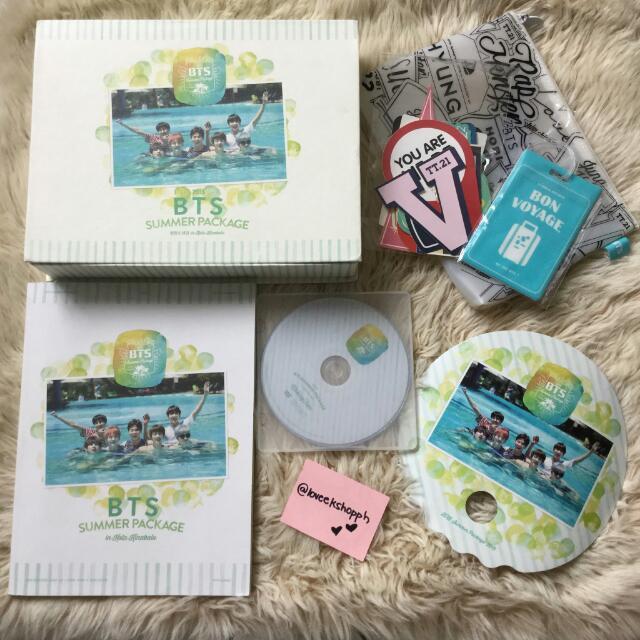RARE BTS Summer Package 2015