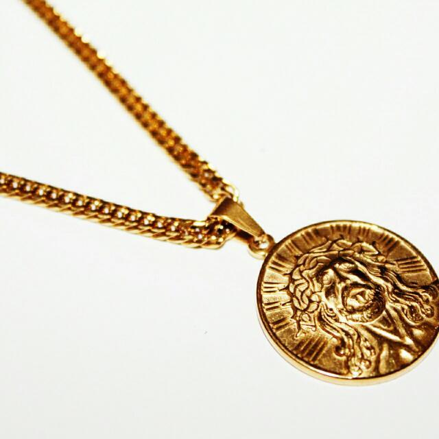Christ Medal Necklace