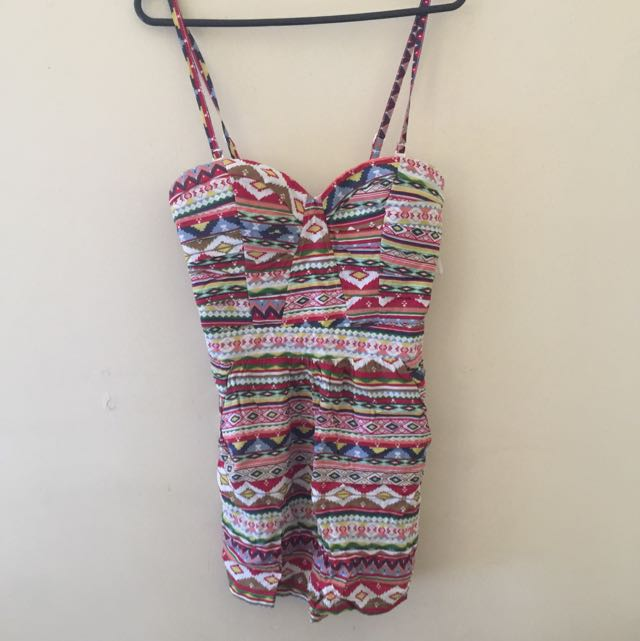 Colorful Playsuit