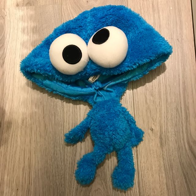 Cookie Monster 造型帽