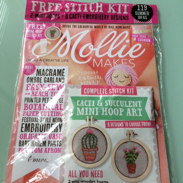 Crochet magazine and kit
