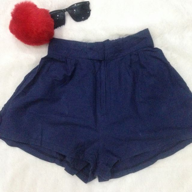 CS01 Cotton Shorts Blue