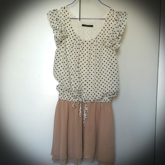 Cute Pokka Dot Dress