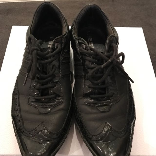 Diesel Lace Up Oxford Shoes, Sz42