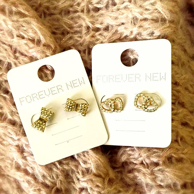 053986798 Forever New Earrings, Women's Fashion, Jewelry on Carousell