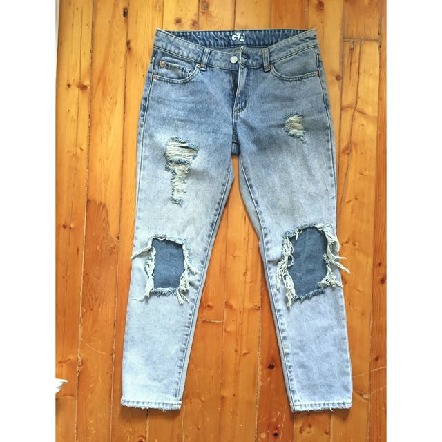 Garage High Waisted Festival Jeans