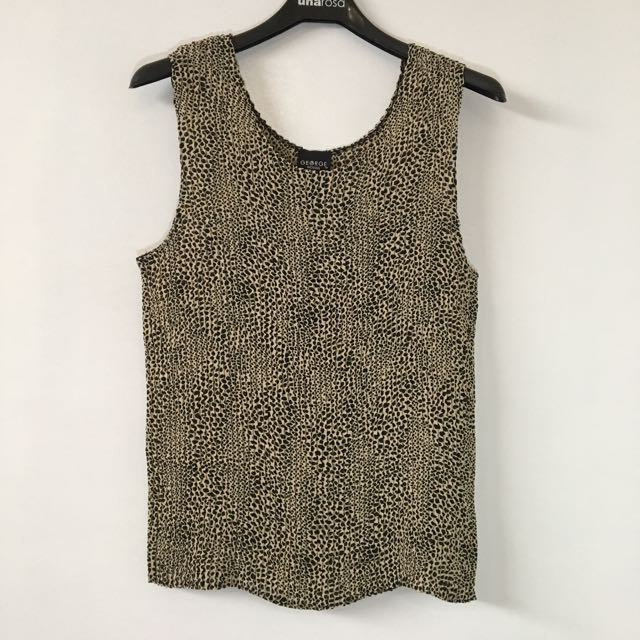 George Printed Tank Top